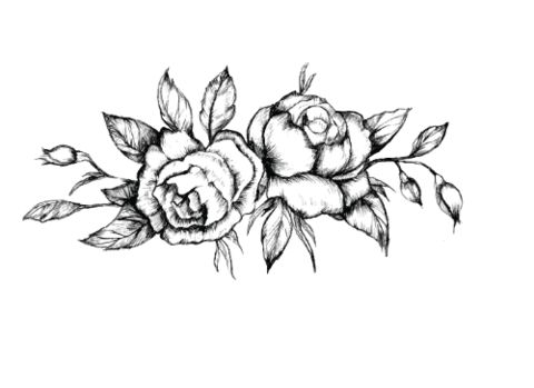 Black Roses Temporary Tattoo | myTaT.com