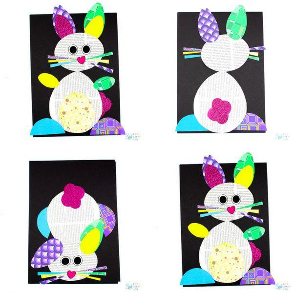 Happy Hoppy Paper Bunny Craft