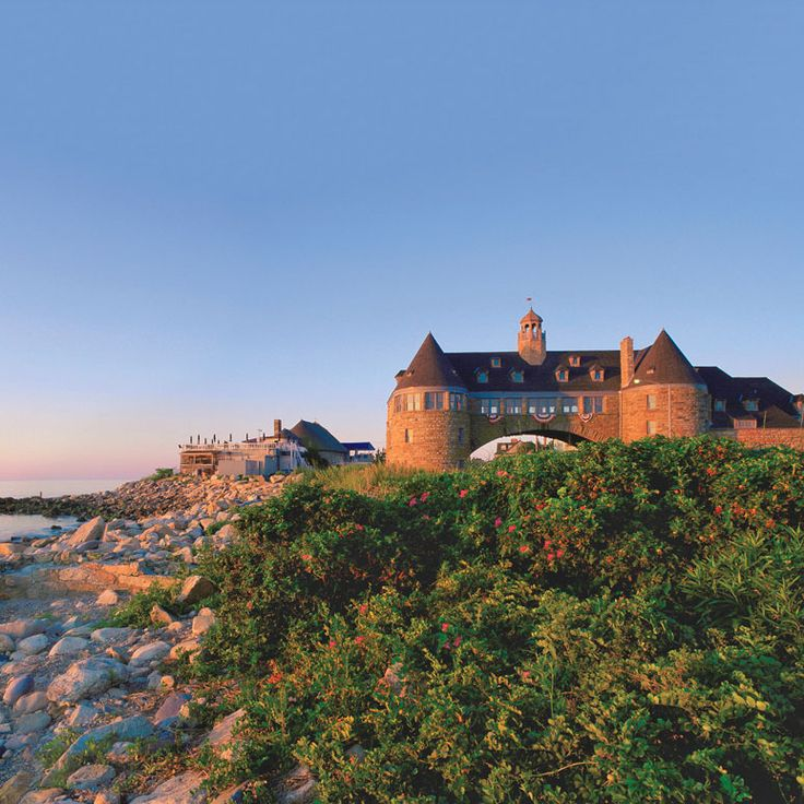 America's Happiest Seaside Towns 2015: Narragansett, Rhode Island. This town of 16,000 stretches out along the shore of Rhode Island's Narragansett Bay like a sunbather at water's edge, and the comparison couldn't be more apt. Photo: Richard Benjamin/RIlighthouse.com. Coastalliving.com