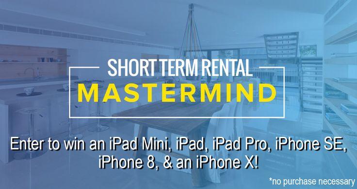 Short-Term Rental Mastermind Giveaway!