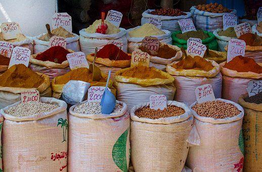 Koření, Trh, Potraviny, Pepř