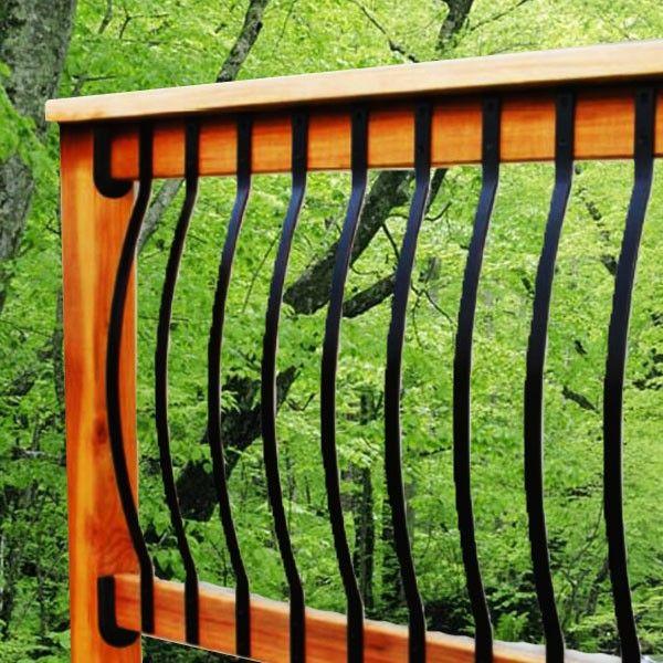 Best 25+ Deck balusters ideas on Pinterest | Porch railing ...