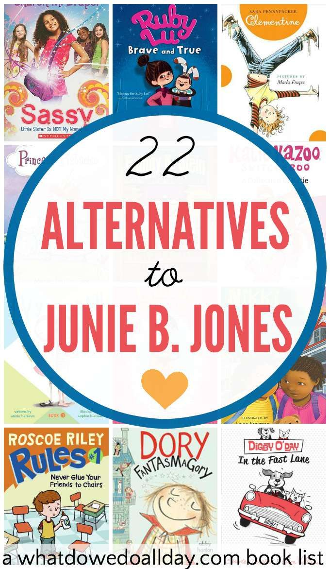 Books Like Junie B. Jones for Kids