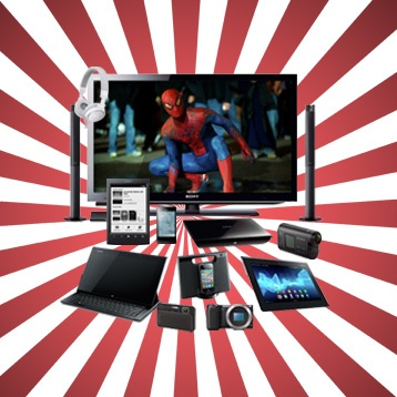 Win a Sony mega prize pack of gadgets! #Sony #Summertainment