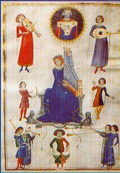 Middeleeuwen-Instrumenten en instrumentale muziek