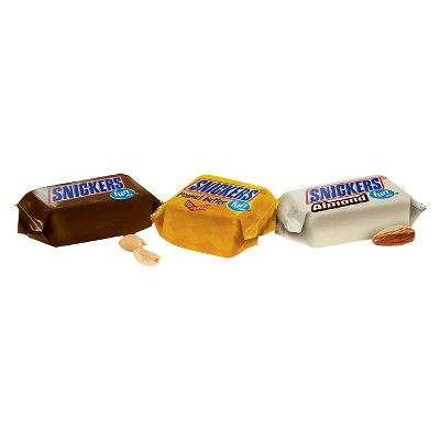 Snickers Variety Fun Size Chocolate Bars - 10.36oz
