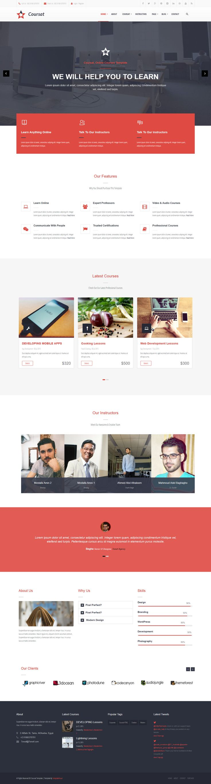 852 best wordpress themes images on pinterest wordpress theme cousat multipurpose wordpress enquiry portal theme website webdesign download http pronofoot35fo Image collections