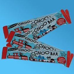 Choo Choo Bars - turned your tongue and lips black.  Sadly, I was not an aniseed fan back in the day!