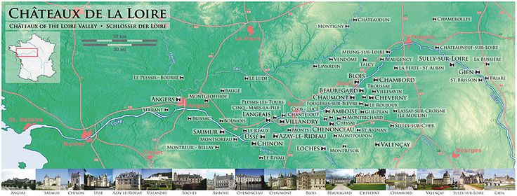 Châteaux of the Loire Valley - Wikipedia, the free encyclopedia