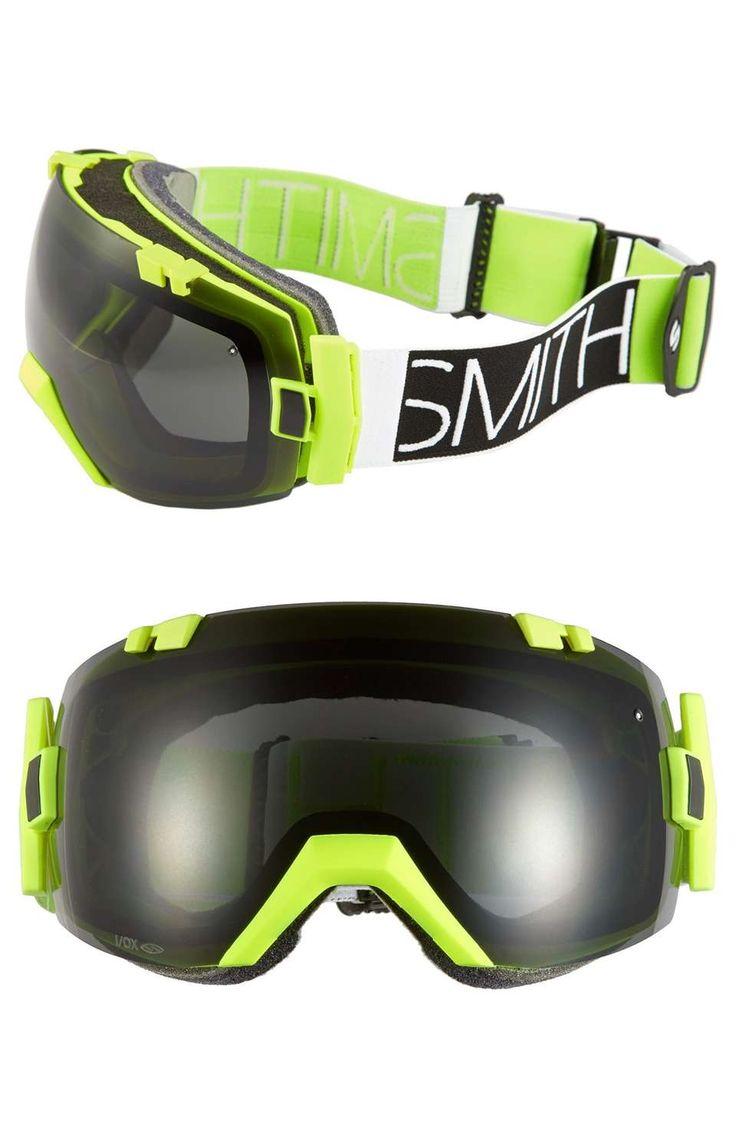 Smith Optics | 'I/OX' Snow Goggles #SmithOptics #snow #goggles