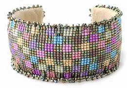 Beaded Bracelet Booklet Pattern 1 – Loom Beaded Bracelet Booklet