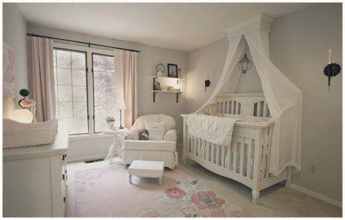 beautiful grey crib | Déco chambre bébé | Pinterest | Beautiful ...