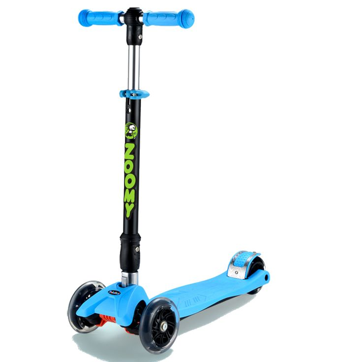 All new Zoomy Maxi Scooter with light up wheels. Perfect for bigger kids who have outgrown their first scooter. Available at www.zoomy.com.au