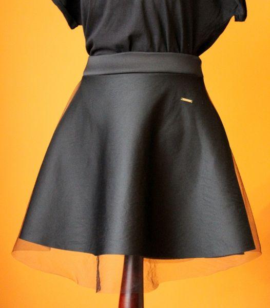 RoomStyle Spódnica Pianka Czarna Tiul Fashion w RoomStyle na DaWanda.com