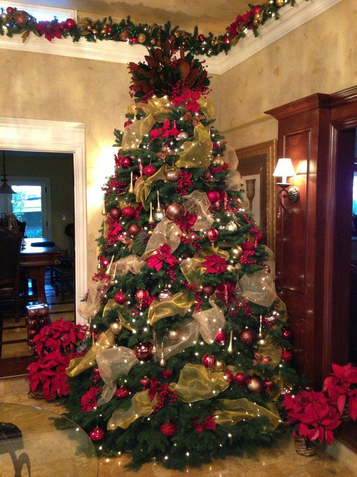 1254 mejores im genes sobre arboles de navidad en - Ver arboles de navidad decorados ...