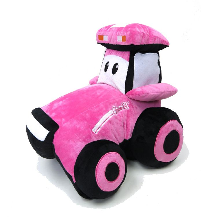 Farm Animal Pillow Pets : Case IH Tractor PINK Pillow Pet! Due out this July. Case IH Merchandise Pinterest Case ih ...