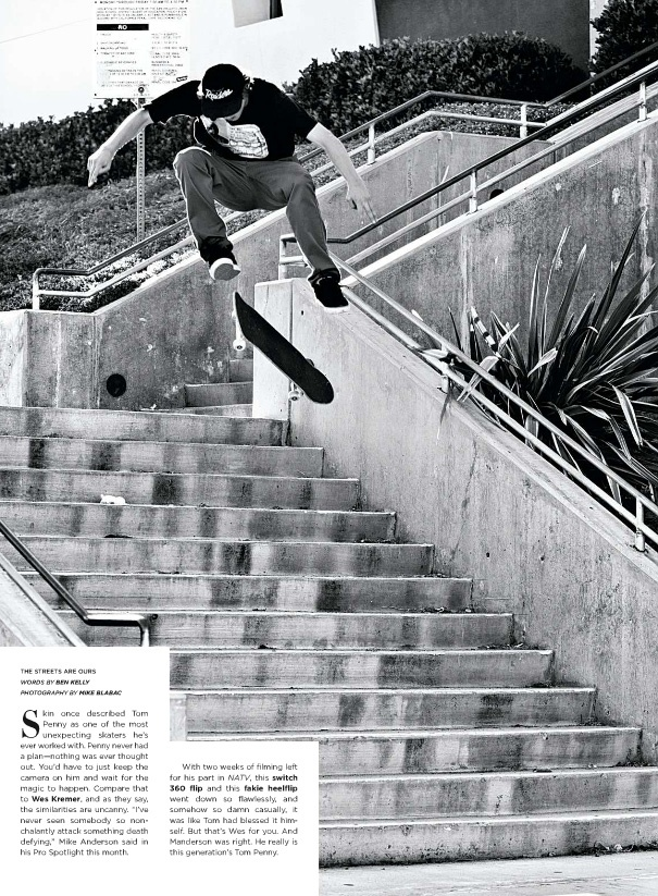Wes Kremer switch tre flip