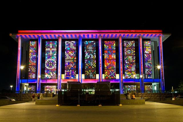 Enlighten Canberra Festival – National Library of Australia