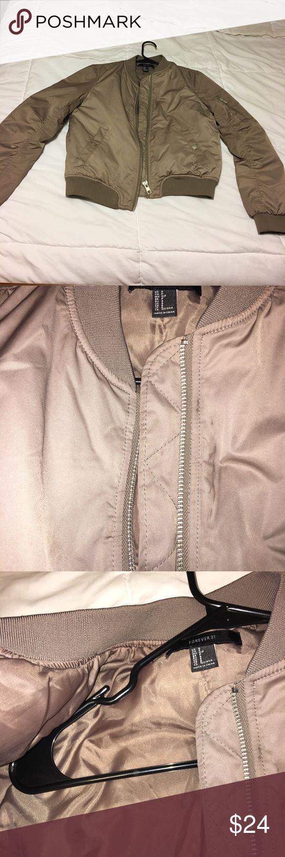 Forever 21 combat jacket Forever 21 combat jacket: worn size small no trades Forever 21 Jackets & Coats