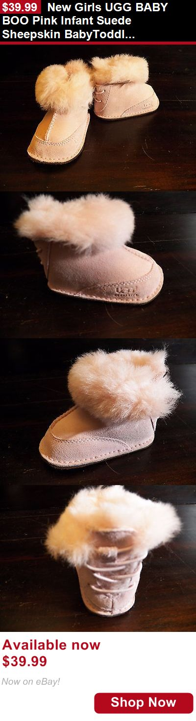 Baby boys clothing shoes and accessories: New Girls Ugg Baby Boo Pink Infant Suede Sheepskin Babytoddler Boot S 2/3 M 4/5 BUY IT NOW ONLY: $39.99