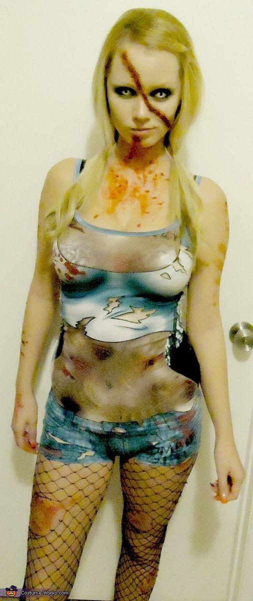 Zombie Girl - Halloween Costume Contest via @costumeworks