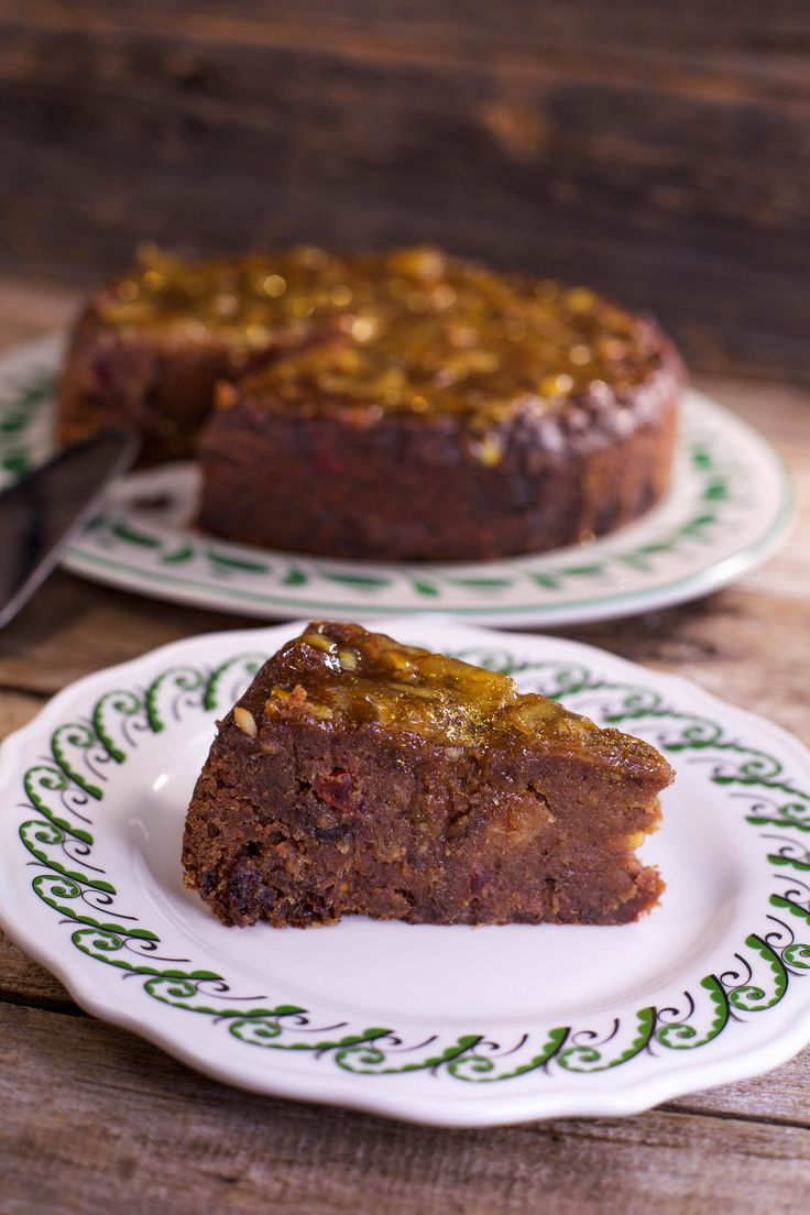 Try this sticky British classic: Date and marmalade Christmas cake.