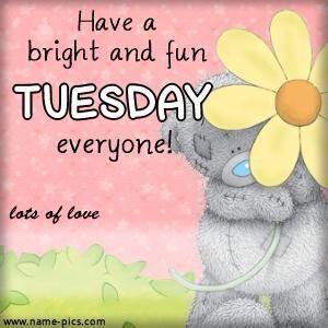 ♥Tatty Teddy♥ Tuesday