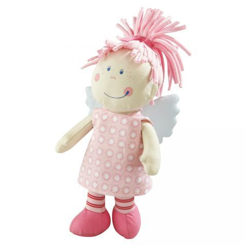 Organic Guardian Angel Tine Doll #oompatoys #habausa So cuddly and organic!  Love the guardian angel for my girls.