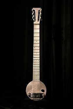 "The Ro-Pat-In (later Rickenbacker) ""Frying Pan"" lap steel."