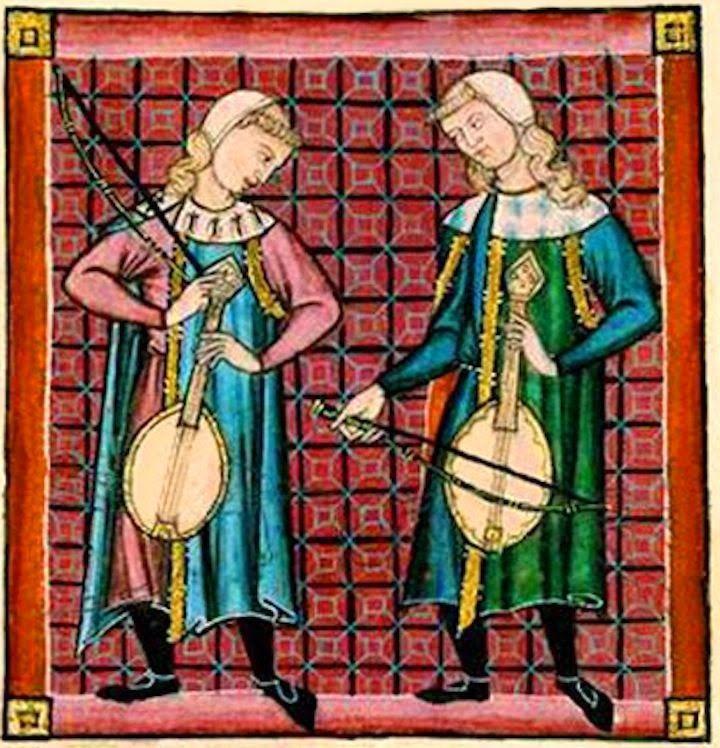 El traje de los músicos en el S.XIII