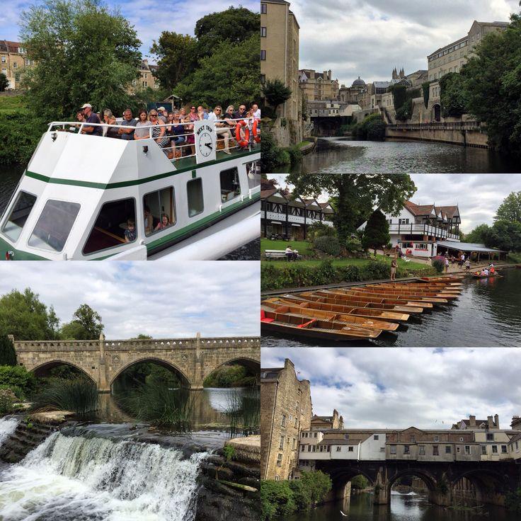 Relaxing boat tour of #Bath and its surroundings @pulteneyCruisers @visitbath #fermataUK #travel #somerset #presstrip