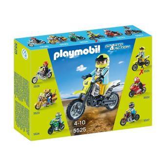 Playmobil Sports & Action 5525 Moto Enduro