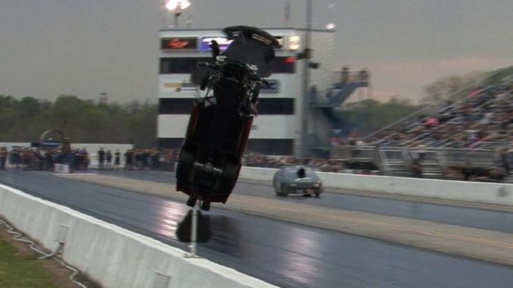 Watch 4,000-horsepower Corvette take flight in 200 mph wheelie - Autoblog