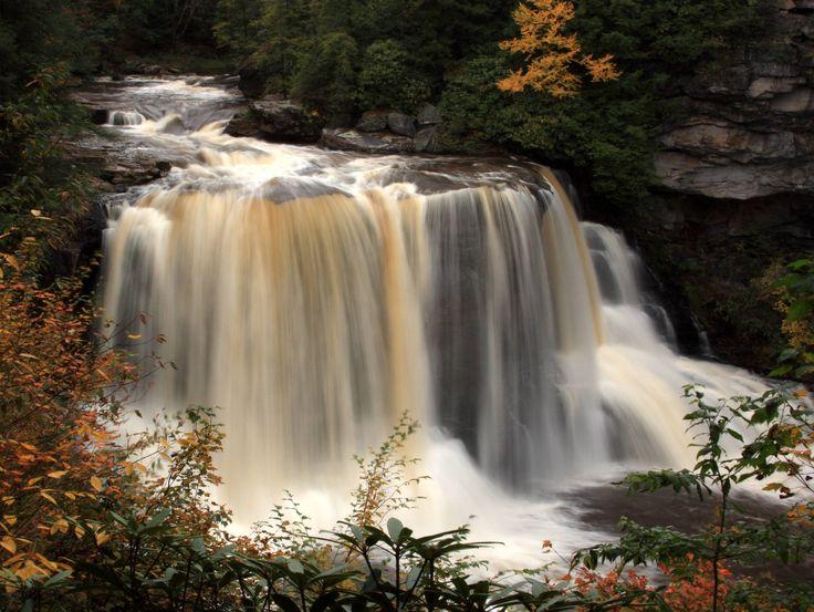 Black Water Falls state park in West Virginia