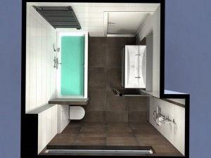 Badkamer in nieuwbouwwoning