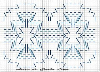 Dina Inspirações: Vagonite - Huck Weaving - Swedish weaving - Yoguslav point - Punto yugoslavo - Ponto jugoslavo - Punto filza                                                                                                                                                                                 Mais