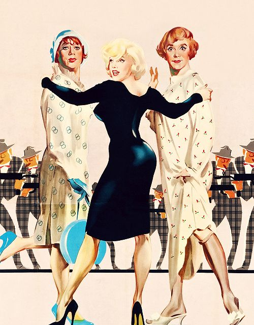 Italian poster for Some Like It Hot (1959)