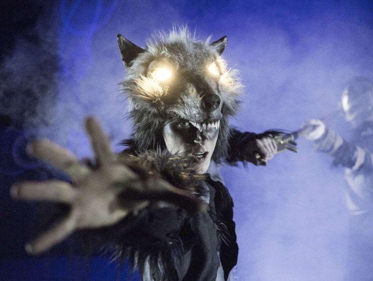 NORR.  Photo magnus skrede.  Actor /dancer Andreas Roksvåg from Absence Crew.  Fenris ulven /fenris wolf