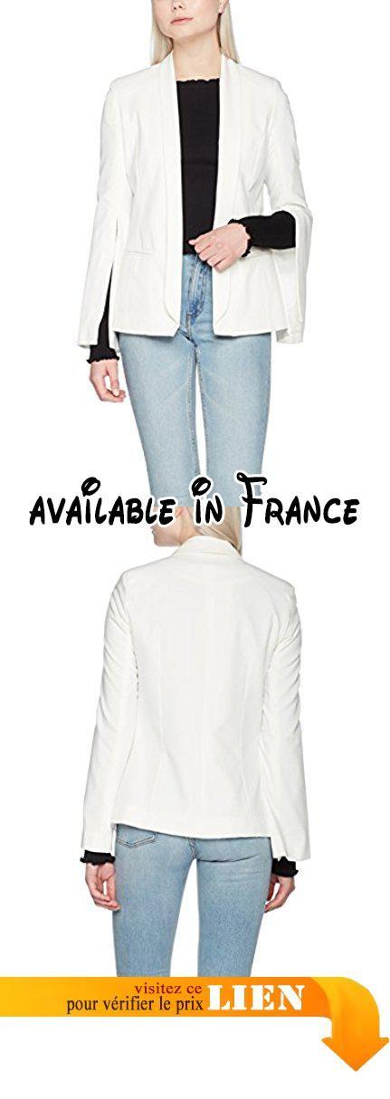 MISS SELFRIDGE Split Sleeve, Blouson Femme, Beige (Ivory), 34.  #Apparel #OUTERWEAR