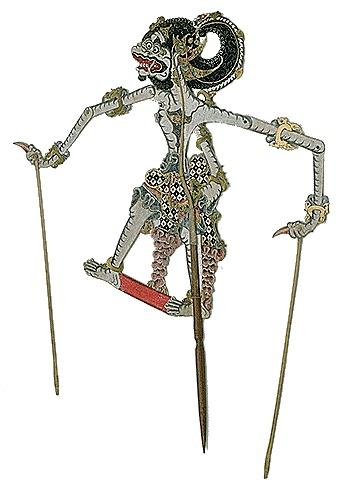 Javanese shadow puppet Hanuman?