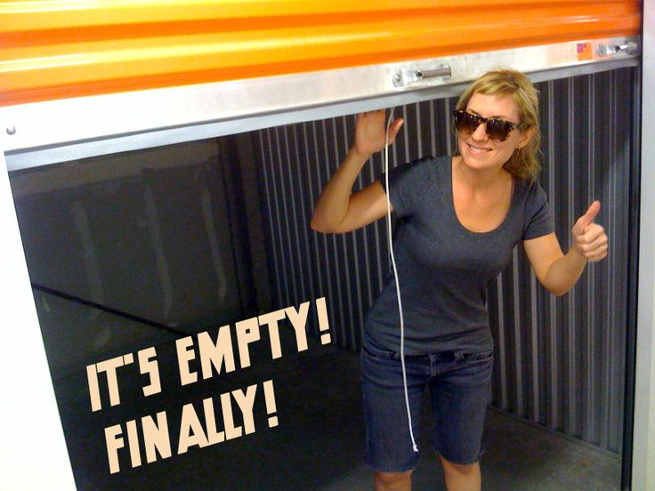 Cleaning Out The Storage Unit To Save Money - And Then We Saved