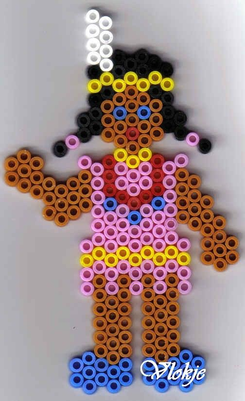 Native american perler beads by vlokje
