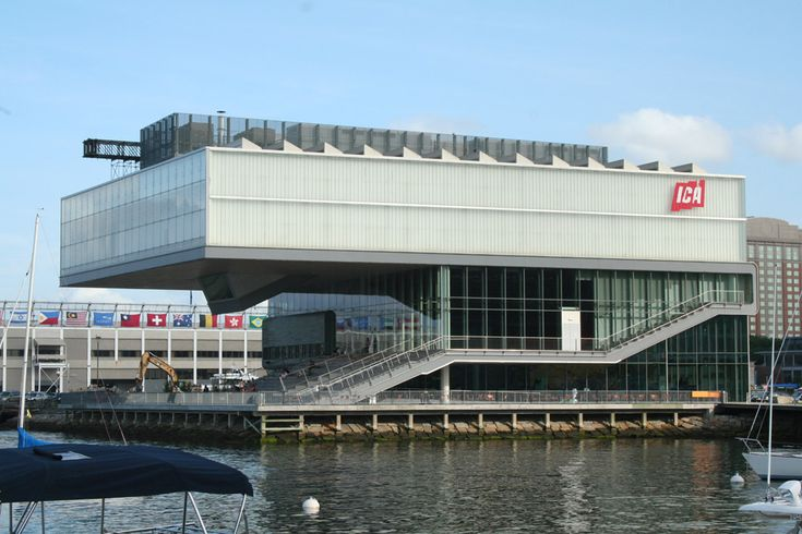 #2. Institute of Contemporary Art  Top 10 Tourist Attractions in Boston – Things To See in Boston