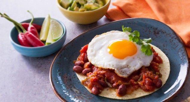 Ditch the bacon and dig into this flavour packed brekkie from Better Homes and Gardens Australia.  #breakfast #mexican #vegetarian
