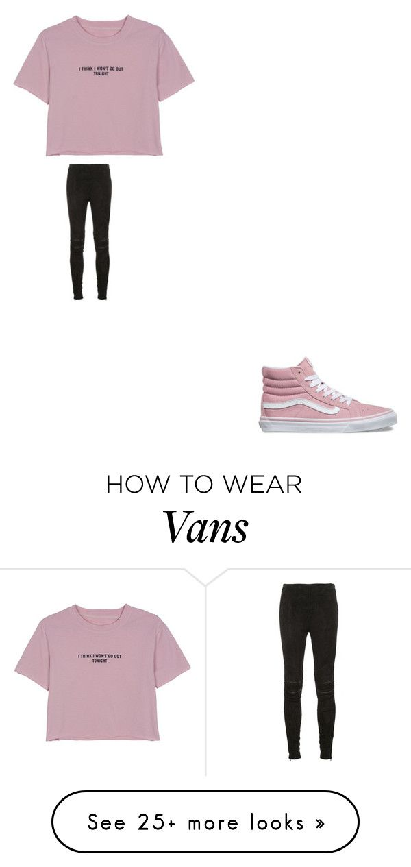 """""""i think i wont go out tonight"""" by bvby-bre on Polyvore featuring WithChic, Yves Saint Laurent and Vans"""