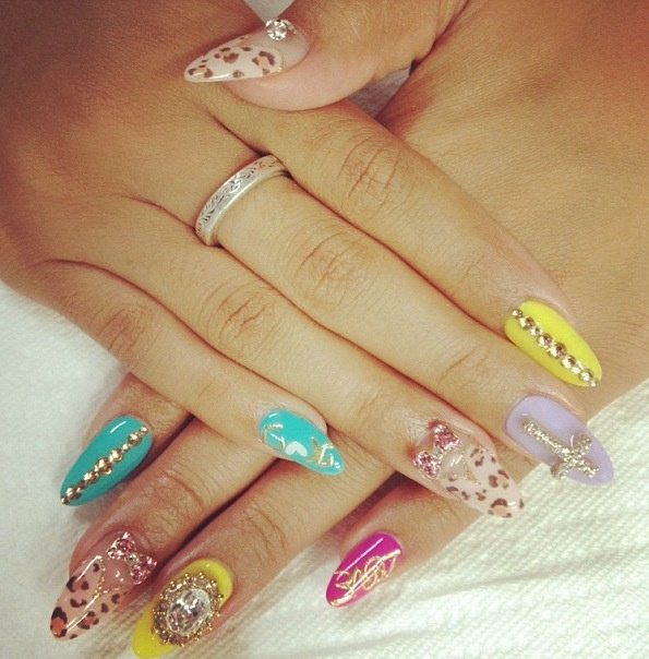 Stiletto Nail Salons Los Angeles: 1000+ Images About ES Nails * Nails On Pinterest