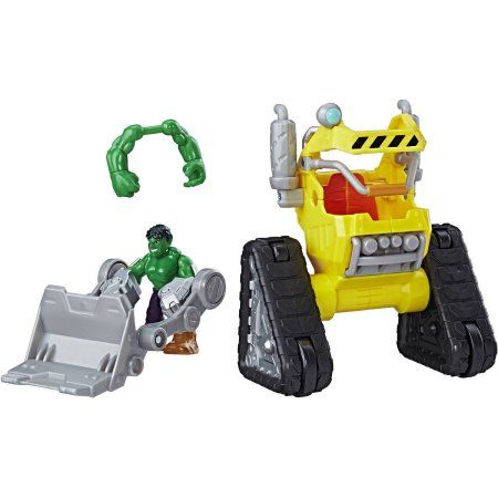 Playskool Heroes Marvel Super Hero Adventures Hulk Power Dozer