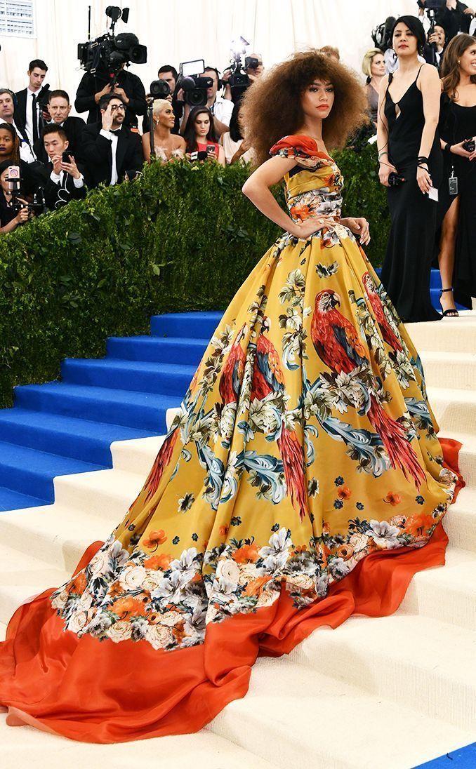 Zendaya Coleman   Met gala outfits, Met gala dresses, Met ...