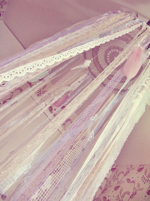 Gypsy Bed Canopy - Baby Crib Crown- Boho Nursery Decor - Dreamcatcher Canopy - Bohemian Bedroom - Customized - Made to Order