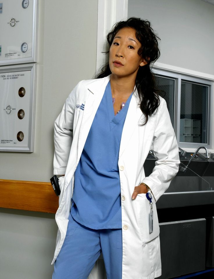 Christina Yang is the definition of hardcore.